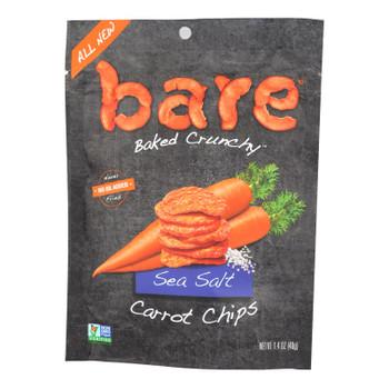 Bare® Baked Crunchy Sea Salt Carrot Chips Sea Salt - Case Of 8 - 1.4 Oz
