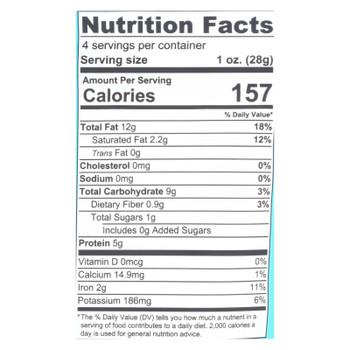 Mavuno Harvest - Organic Roasted Cashews - Case Of 6 - 4 Oz.