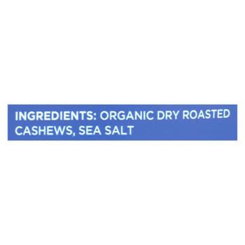 Mavuno Harvest - Organic Roasted Cashews - Sea Salt - Case Of 6 - 4 Oz.
