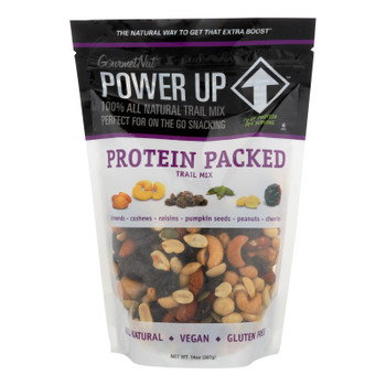 Gourmet Nut - Trail Mix Protein Packed - Case Of 6 - 14 Oz