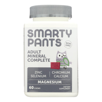 Smartypants - Gummy Vitamin Adlt Mneral Cmp - 1 Each - 60 Ct