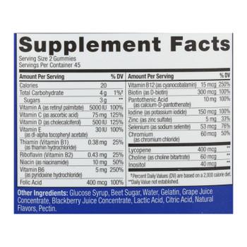 Olly - Vitamins Multi Mens Blkbr - 1 Each - 90 Ct