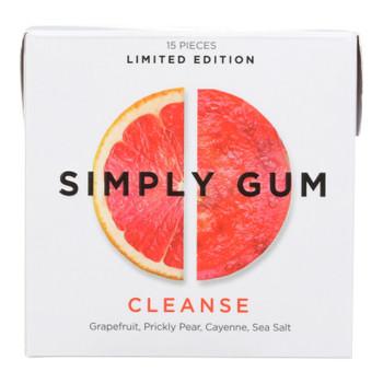 Simply Gum - Gum Cleanse - Case Of 12 - 15 Ct