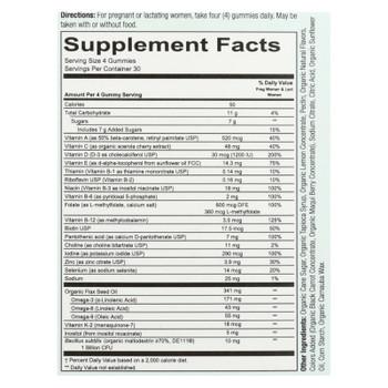 Smartypants - Gummy Vitamin Prentl Cmpl - 1 Each - 120 Ct