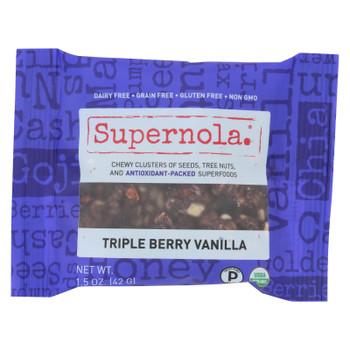 Supernola - Triple Berry Vanilla - Case Of 12 - 1.5 Oz