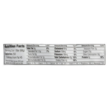Clif Bar Peppermint Bark Energy Bar - Case Of 12 - 2.4 Oz