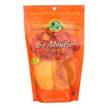 International Harvest Go Mango! Dried Mango Slices  - Case Of 6 - 12 Oz