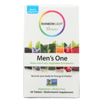 Rainbow Light - Men's One Vibrance - 1 Each - 30 Tab