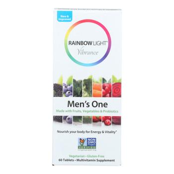Rainbow Light - Men's One Vibrance - 1 Each - 60 Tab