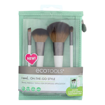 Ecotools On-the-go Style Kit  - Case Of 2 - Ct