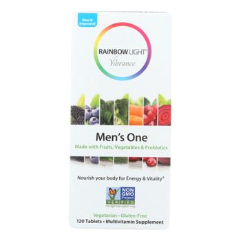 Rainbow Light - Men's One Vibrance - 1 Each - 120 Tab