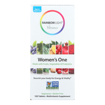 Rainbow Light - Women's One Vibrance - 1 Each - 120 Tab