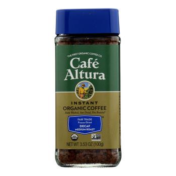 Cafe Altura - Coffee Instant Decaf - Case Of 6 - 3.53 Oz
