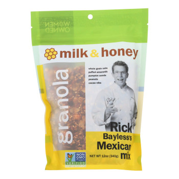 Milk And Honey Granola Rick Bayless's Mexican Mix - Case Of 6 - 12 Oz