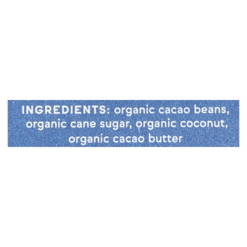Raaka Chocolate - Bar Mini.cnut Milk 60% - Case Of 100 - .28 Oz