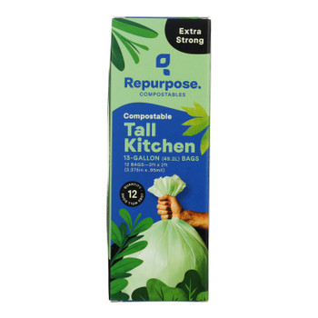Repurpose - Bags Tall Kitchen - Case Of 20 - 12 Ct
