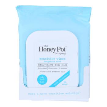 The Honey Pot - Sensitive Wipes - 30 Ct