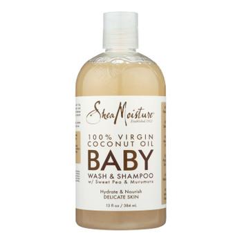 Shea Moisture - Baby Wash&shmp Murumu Coconut - 13 Fz