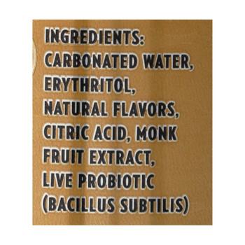 Live Soda - Soda Ginger Probiotic - Case Of 4-6/12 Fl Oz.
