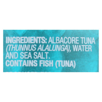 Sustainable Seas - Tuna Albcore Chnk In H2o - Case Of 12 - 5 Oz