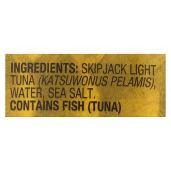 Sustainable Seas - Tuna Chunk Light In H2o - Case Of 12 - 5 Oz
