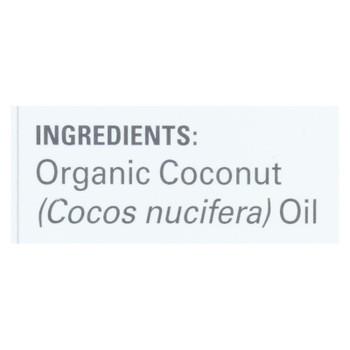 Nutiva - Coconut Body Oil Unscented - Case Of 6 - 8 Fz