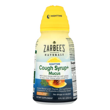Zarbee's - Cough&mucus Syrup Nightime - 8 Fz
