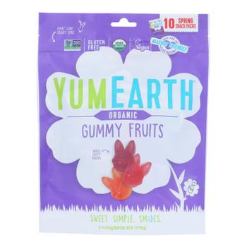 Yumearth - Gummy Fruit Easter - Case Of 18 - 7 Oz
