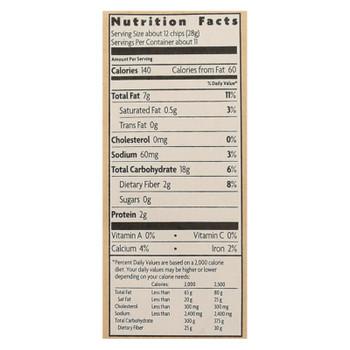 Que Pasa - Corn Chips White - Case Of 12 - 11 Oz