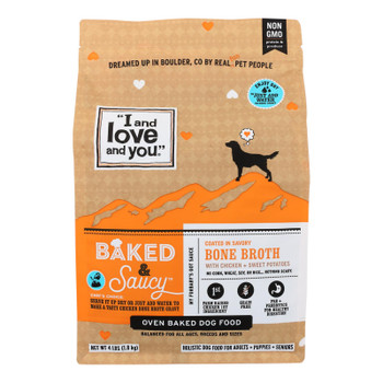 I And Love And You - Dog Food Baked Saucy Ckn - Case Of 6 - 4 Lb