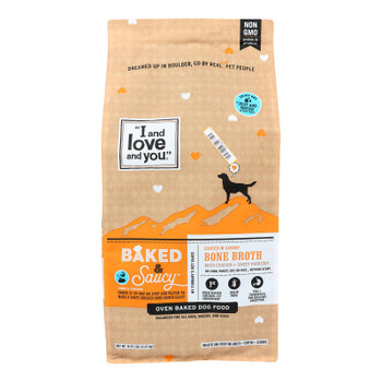 I And Love And You - Dog Food Baked Saucy Ckn - Case Of 1 - 10.25 Lb