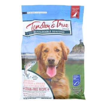Tender & True - Dog Food Slmn Sweet Pot - Case Of 6 - 4.00 Lb