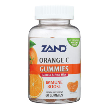 Zand - Gummies Orange C - 1 Each - 60 Ct