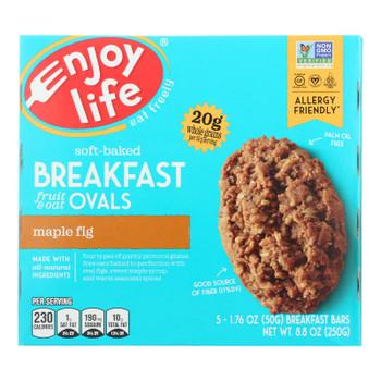 Enjoy Life - Bar Breakfast Maple Fig - Case Of 6 - 8.8 Oz