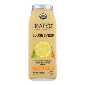 Maty's - Cough Syrup Organic - 6 Fl Oz.