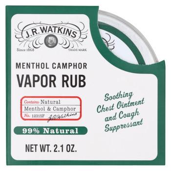 J.r. Watkins Menthol Vapor Rub - 2.1 Oz