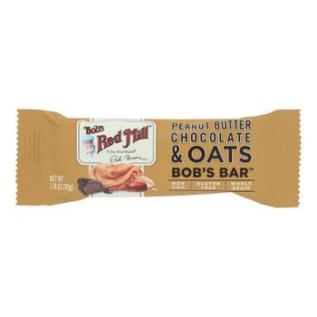 Bob's Red Mill - Bar Pnutbt Chocolate Ots - Case Of 12 - 1.76 Oz