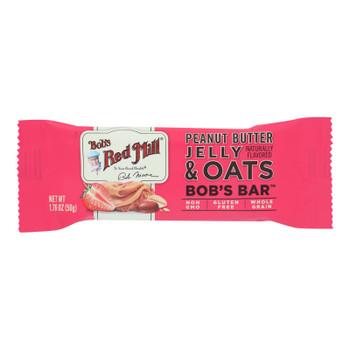 Bob's Red Mill - Bar Pnutb Jelly Ots - Case Of 12 - 1.76 Oz