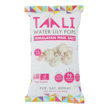 Taali - Puffs Water Lily Himal Salt - Case Of 12 - 2.3 Oz