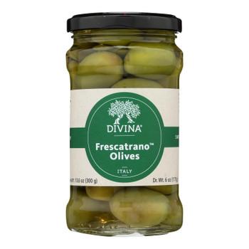 Divina - Olives Frescatrano - Case Of 6 - 6 Oz