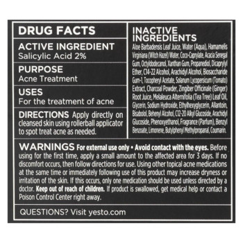Yes To - Acne Trtmnt Tomato Dtx - Case Of 3 - 0.5 Fz