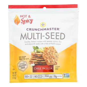 Crunchmaster - Mltisd Cracker Chile Pasilla - Case Of 12 - 4 Oz