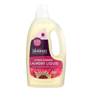 Biokleen Laundry Liquid Detergent - Citrus Essence - 64 Fl Oz