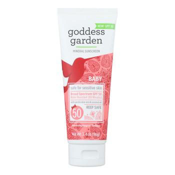 Goddess Garden - Sunscrn Baby Spf 50 Tube - 1 Each - 3.4 Oz