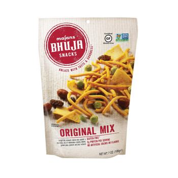 Bhuja Snacks - Original Mix - Case Of 6 - 7 Oz.