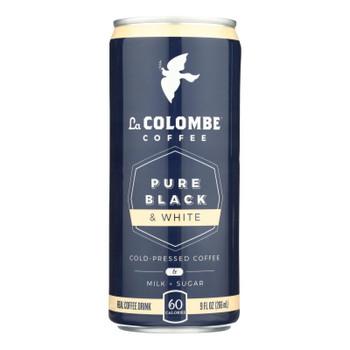 La Colombe - Coffee Pure Black/white - Case Of 12 - 9 Fz