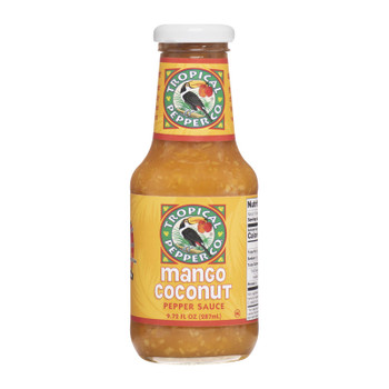 Tropical Pepper Mango Coconut Grilling Sauce  - Case Of 12 - 9.72 Fz