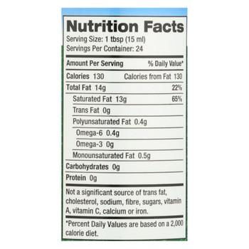 Carrington Farms™ Premium Mct Liquid Coconut Oil - Case Of 6 - 12 Fz