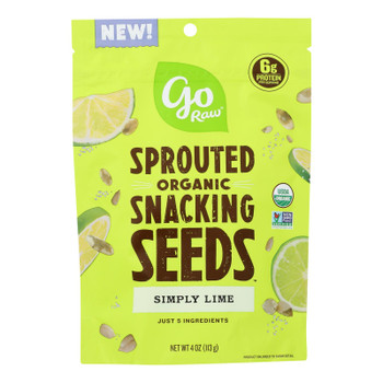 Go Raw - Snack Seed Smply Lm Sprt - Case Of 10 - 4 Oz