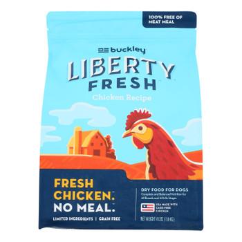 Buckley - Liberty Fresh Chicken - Case Of 6 - 4 Lb